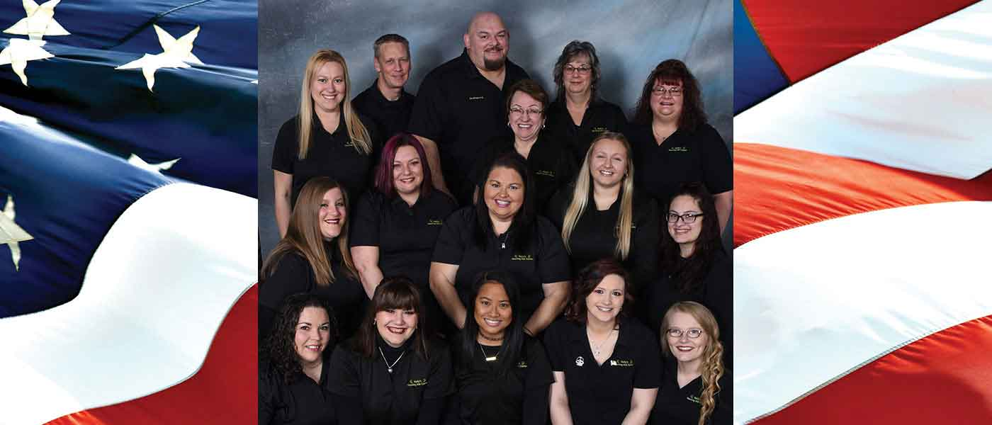 Holly's Hearing Staff Group Photo